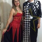 Festa da Associação dos Aposentados – Colombina e Pierrot